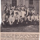 1973 Confirmation Sacred Heart Church Maxwell photo album thumbnail 4